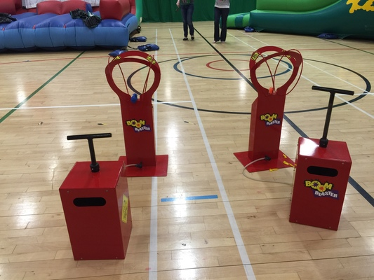 Balloon buster Boom Blaster hire