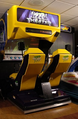 Mad Wave Motion boat simulator game hire - Novel Events