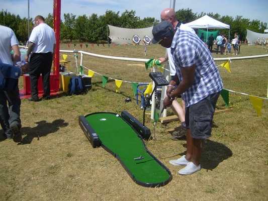 Putting Challenge hire