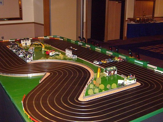 Christmas Scalextric hire