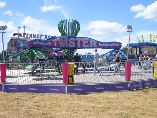 The Twister fairground ride hire