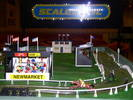 Giant Scalextric Horse Racing Game